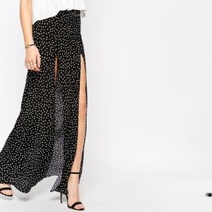 Stone Cold Fox Cryptic Maxi Skirt